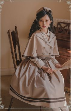 Cute Dresses, Cute Outfits, Estilo Lolita, Real Costumes, Asian Street Style, Fantasy Dress, Character Outfits, Lolita Dress, Preppy Style