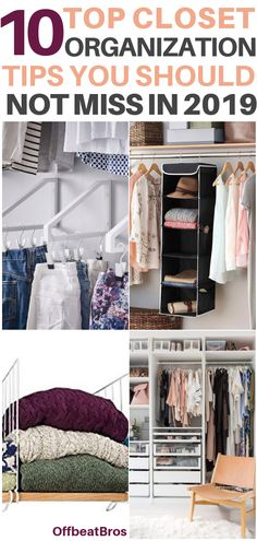 37 Ideas Apartment Closet Organization Diy Organisation For 2019