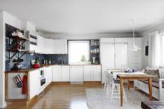Cocina - Un apartamento con lo mejor del estilo nórdico y el ecléctico