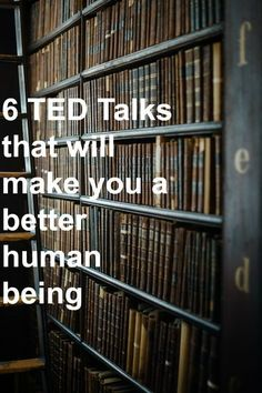 health care 6 TED Talks that will make you a better human being Be A Better Person, Better Life, Be Better, Best Ted Talks, Detox Kur, Be A Nice Human, Self Development, Personal Development, Self Improvement