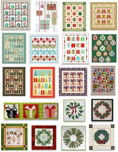 Quilt Inspiration: FREE PATTERN Archive There are tons of free patterns here for quilts and other sewing projects!