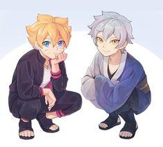 Mitsuki x Boruto / Boruto Naruto Uzumaki, Naruto Gaiden, Boruto And Sarada, Naruto Art, Naruhina, Sasuke Sakura, Naruto Comic, Naruto Family, Boruto Naruto Next Generations