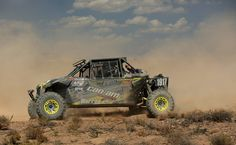 Can-Am ATV and side-by-side vehicle racers came away with two podiums at the 2015 Best In the Desert Vegas To Reno desert race. The Can-Am / ITP / Murray Racing team of Derek and Jason Murray finished second in Class 1900 in their Can-Am Maverick side-by-side. Can-Am Renegade 4x4 racer Chris Robinson put in a spectacular third-place ride in the Ironman division.