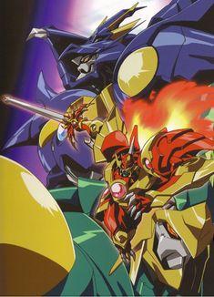 Gundam, Manga Art, Manga Anime, Transformers, Magic Knight Rayearth, Galactic Heroes, Super Robot, Fantasy Armor, Anime Artwork