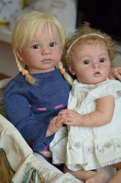 Габриэла и Тиффани - два милых создания. Куклы реборн от Регины Мельниченко…