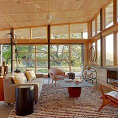 Mid Century Ranch Slanted Window Coverings Design, Pictures, Remodel, Decor and Ideas