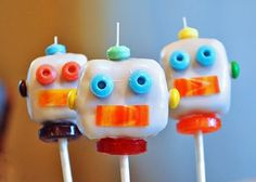 Gotta try These cake bots for Lucas as all he talks about all day is Robots...
