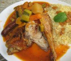 Recette Couscous (pour végétarien et affamé !) par elleisab - recette de la catégorie Plat principal - divers