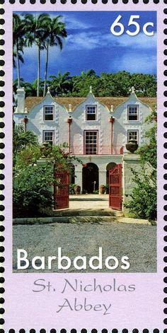 Stamp: St Nicholas Abbey (Barbados) (The Seven Wonders of Barbados) Mi:BB 1237,Sn:BB 1217