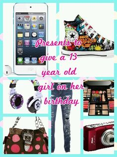 Presents To Give A 13 Year Old Girl In Her Birthday 13th Wishes Thirty