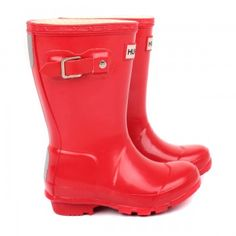 Hunter original red gloss wellington boots