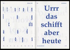 Alexander Lis / Visual Communication and Creative Research
