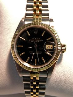 That's a rolex Women's Rolex Date Just Oyster Perpetual in our consignment case