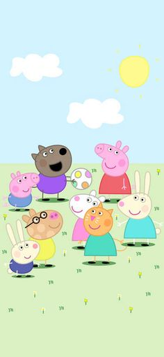 Animation of piggy admire strange cartoon is lovely Wallpapers for iPhone X, iPhone XS and iPhone XS Max - Free Wallpaper Peppa Pig Wallpaper, Cartoon Wallpaper, Cute Wallpapers For Ipad, Best Iphone Wallpapers, Tumblr Iphone Wallpaper, Aesthetic Iphone Wallpaper, Wallpaper Free Download, Coraline, Kids Prints