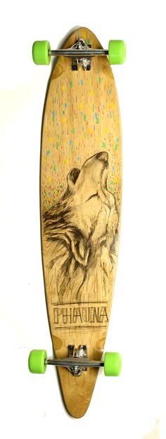 Wolf Pintail by Phauna Longboards