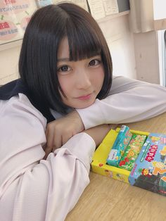 Beautiful Japanese Girl, Japanese Beauty, Cute Asian Girls, Cute Girls, Female Pose Reference, Cute Cafe, Japan Girl, Girl Short Hair, Cute Beauty