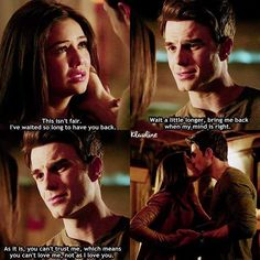 #TheOriginals 3x19 No More Heartbreaks - Kol and Davina