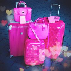 These Are A Few Of My Favourite Things: March 2013.  Pink suitcases are definitely on the list!
