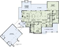 Craftsman Style House Plans - 3574 Square Foot Home , 2 Story, 4 Bedroom and 4 Bath, 2 Garage Stalls by Monster House Plans - Plan 12-1246