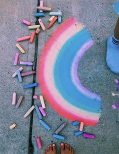 P I N T R E S T: paytin Chalk Art chalk art sidewalk paytin Summer Vibes, Summer Fun, Summer Goals, Summer Things, Pink Things, Summer Bucket, Happy Summer, Summer Nights, Fred Instagram