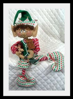 "Primitive Christmas 20"" ""Kristoff"" Elf Pattern 311 | eBay"