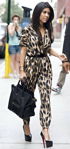 Leopard jumpsuit :)