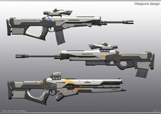 Anime Weapons, Sci Fi Weapons, Weapon Concept Art, Fantasy Weapons, Weapons Guns, Sci Fi Fantasy, Cyberpunk, Sci Fi Waffen, Future Weapons