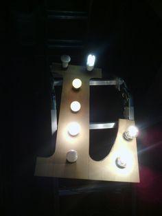 Cartel luminoso prueba 1