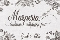 modern calligraphy fonts - Google Search