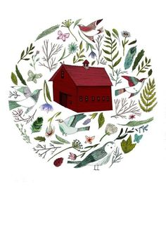 totally want this print by Lizzy Stewart (via etsy)