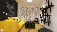 Salon styl Nowoczesny - zdjęcie od Klaudia Tworo Projektowanie Wnętrz - Salon - Styl Nowoczesny - Klaudia Tworo Projektowanie Wnętrz