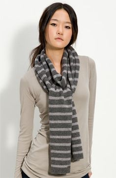 Michael Kors Stripe knit Scarf