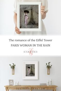 Eiffel Tower Paris Wall Art Prints Bedroom Decor French | Etsy Art Prints For Sale, Framed Art Prints, Paris Theme Decor, French Paintings, Paris Wall Art, French Decor, Wall Art Decor, Bedroom Decor, Gallery Wall