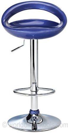 df sales lamboro sorrento swivel bar stool blue amazoncouk - Amazon Bar Stools