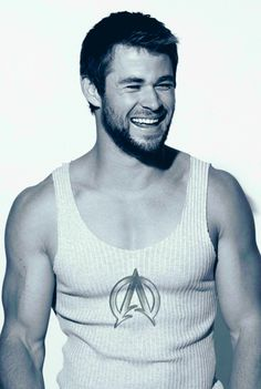 Chris Hemsworth. He can avenge me anytime ;)