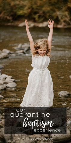 Quarantine LDS Baptism. #baptism How we planned a special Baptism day for our daughter during a global pandemic. #ldsbpatism