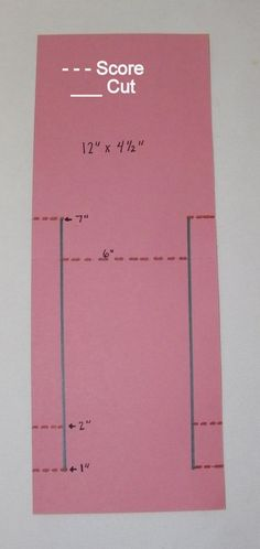 Card - great fold instructions