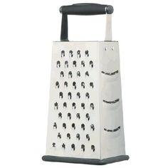 Râpe 4 Faces : l'un des 10 ustensiles indispensables en cuisine selon le chef Jamie Oliver. Découvrez les 9 autres en cliquant sur la photo !