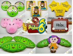 toy story cookies ideas | SweetTweets Toy Story Themed Cookies 1 ... | Toy Story B-Day id…