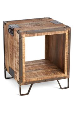 Indigo+Imports+Open+Center+Wood+Side+Table+available+at+#Nordstrom