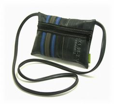 Tiny Tire Purse  Recycled bicycle inner tube