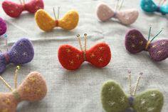 ちょうちょブローチの作り方|コサージュ・ブローチ|ファッション小物|ハンドメイドカテゴリ|アトリエ