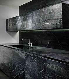 soapstone by eggersmann - incredible natural stone clad kitchen
