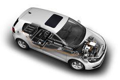 Volkswagen: Golf blue-e-motion