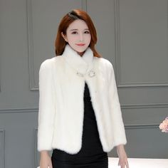 >> Click to Buy << 2017 New Mink Fur Mink Fur Collar Control Short Coat Female Real Mink Hair Whole Leather Coat #Affiliate