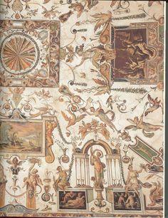 Antonio Tempesta, Grotesques, 1579-1580. Uffizi Gallery, Firenze #art #grotesques #decor #painting #azrtist