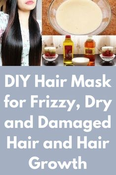 DIY Hair Mask for Frizzy, Dry and Damaged Hair and Hair Growth This is a full packed moisturizing treatment for your hair. The proportions by the way is totally up to your hair length, if you made a lot you can store it up and use it the next day. For this hair mask you will need Raw honey – It will moisturise your hair. Your hair …