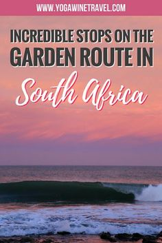 Incredible Stops Not to Miss Along the Garden Route in South Africa - Safari Photography Africa Destinations, Travel Destinations, Holiday Destinations, Roadtrip, Travel Advice, Travel Tips, Travel Info, Travel Guides, African Safari