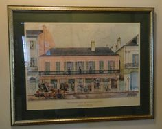 Historic New Orleans Collection The Merieult House Print A Painting Boyd Cruise. Great price on this print! Only $59!!!