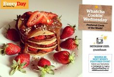 This week's #RRWhatchaCookin Wednesday featured cook of the week made beautiful vegan pancakes with chocolate pumpkin butter! Get more amazing recipes on her blog